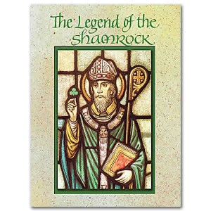 shamrock st. patrick's day cards