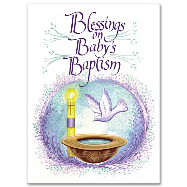 Celebrating babys baptism religious greeting cards and more the baby baptism m4hsunfo