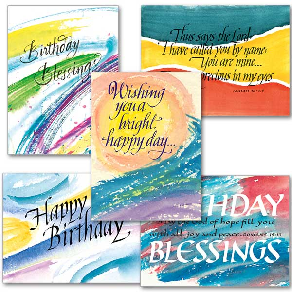 These Four Scriptures Send a Meaningful Message With Your – Religious Birthday Card Messages