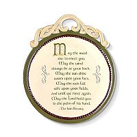 The Irish Blessing Wall Plaque