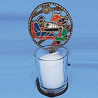 """Nativity Light"" Votive Holder"