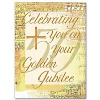 Celebrating You on Your Golden Jubilee - Religious Profession Anniversary Card